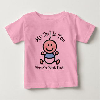Fathers+Day+2015 Baby T-Shirt