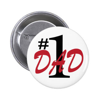 Father's Day 6 Cm Round Badge
