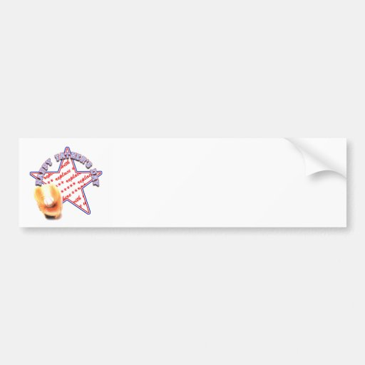 Father's Day All Star Photo Frame Bumper Stickers