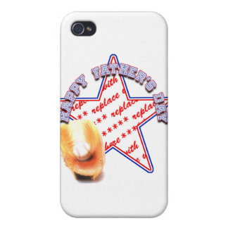 Father's Day All Star Photo Frame iPhone 4/4S Cover