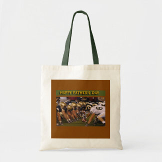 Father's Day American Football Canvas Bags