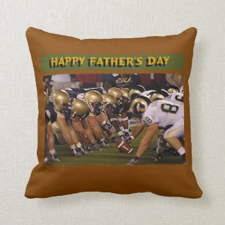 Father's Day American Football Cushion