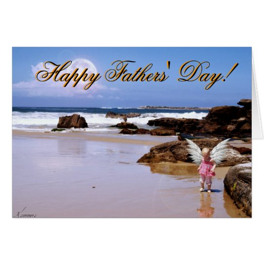 Fathers' Day Angel Card