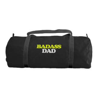 Fathers day awesome DAD Gym Duffel Bag
