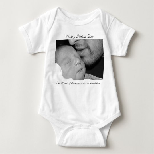 Fathers day baby bodysuit