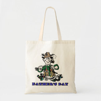 Fathers Day Budget Tote Bag
