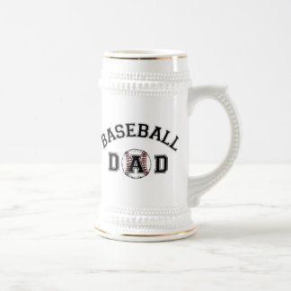 Father's Day Baseball Dad Beer Steins