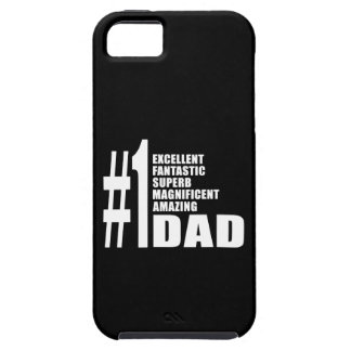 Fathers Day Birthdays Christmas Number One Dad iPhone 5 Cases