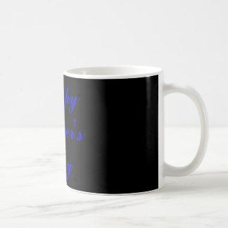 Father's Day-Black & Blue Mug