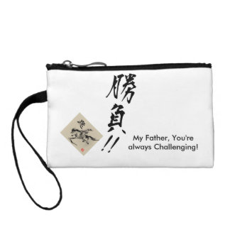 Father's day by horse coin purse
