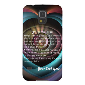 Fathers Day by Martha Valencia view about Design Galaxy S5 Case