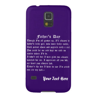 Fathers Day by Martha Valencia view about Design Galaxy S5 Cover