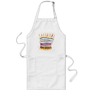 Father's Day Cake Apron