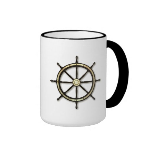 Fathers Day - Captains Wheel Coffee Mug