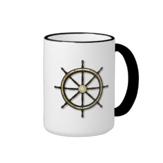 Fathers Day - Captains Wheel Ringer Mug