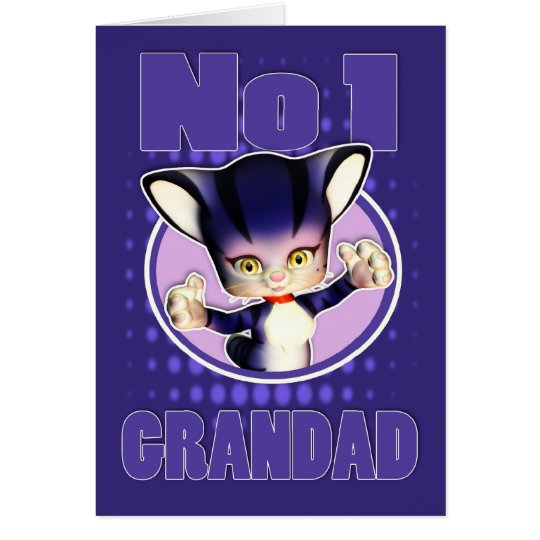 Father's Day Card - Cute Cat - No1