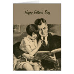 Father's Day Card Daughter Vintage 1920s