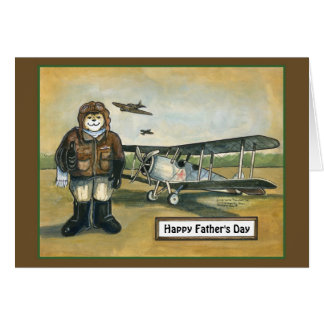 Father's Day Card - Pilot
