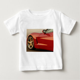 Father's Day Corvette Baby T-Shirt