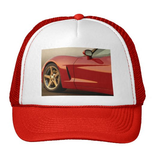 Father's Day Corvette Mesh Hats