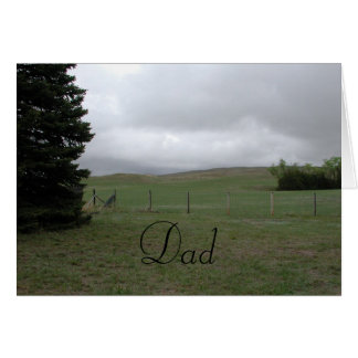 Fathers Day Country Card by Janz