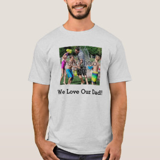 Father's Day Custom Photo Shirts