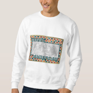 Fathers Day Cut Out ADD YOUR PHOTO Jewel Stars Pullover Sweatshirt