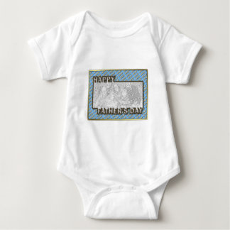 Fathers Day CutOut ADD YOUR PHOTO Polka Dot Father T-shirt