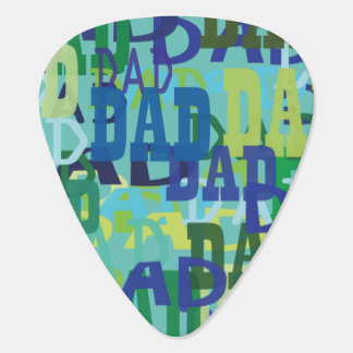 Father's Day Dad Guitar Pick