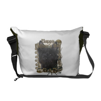 Fathers Day DAD - Stone Paws - Cairn - Rosco Messenger Bags