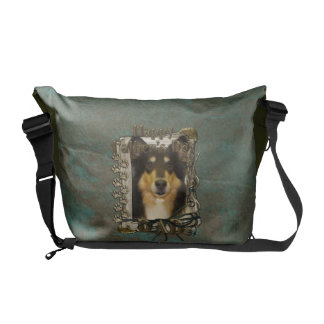 Fathers Day DAD - Stone Paws - Collie - Caroline Commuter Bag