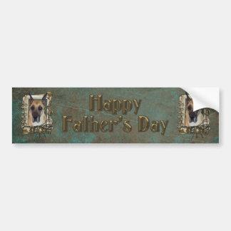 Fathers Day DAD - Stone Paws - Great Dane Bumper Sticker