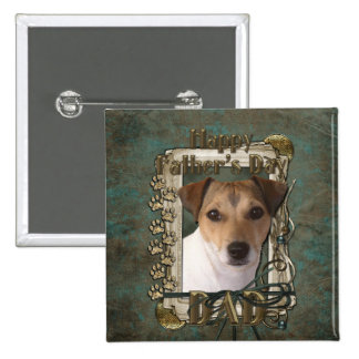 Fathers Day DAD - Stone Paws - Jack Russell Buttons