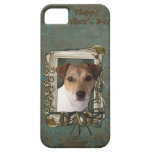 Fathers Day DAD - Stone Paws - Jack Russell iPhone 5 Covers