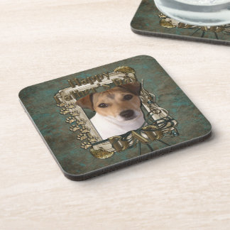 Fathers Day DAD - Stone Paws - Jack Russell Coasters