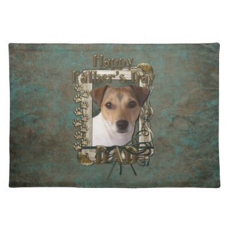 Fathers Day DAD - Stone Paws - Jack Russell Place Mats