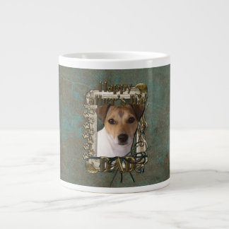 Fathers Day DAD - Stone Paws - Jack Russell Extra Large Mugs