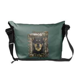 Fathers Day DAD - Stone Paws - Kelpie - Jude Courier Bag