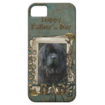 Fathers Day DAD - Stone Paws - Newfoundland iPhone 5 Covers