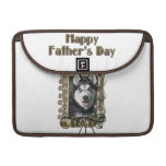 Fathers Day DAD - Stone Paws - Siberian Husky