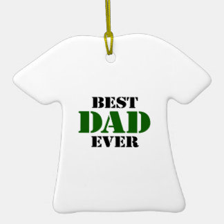 Father's Day Ceramic T-Shirt Decoration