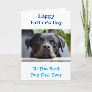 e31edfa9 Father's Day Dog Dad World's Best Ever ...