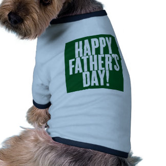 father's day pet tee
