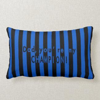 Father's day, football, soccer team fan - Inter Lumbar Cushion