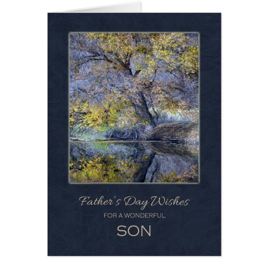 Father's Day for Son Card
