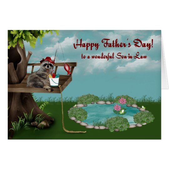 Father's Day For Son-in-Law Greeting cards