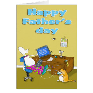 fathers day funny card