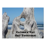 Father's Day Get Together! Invitations! Blue Ocean 17 Cm X 22 Cm Invitation Card