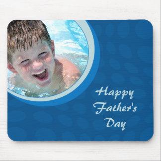 Father's Day Gift Custom Photo Mousepad
