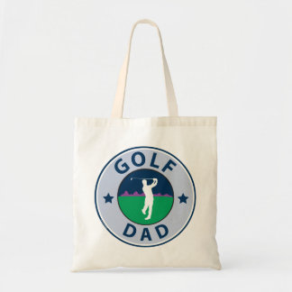 Fathers Day Golf Dad Tote Bags